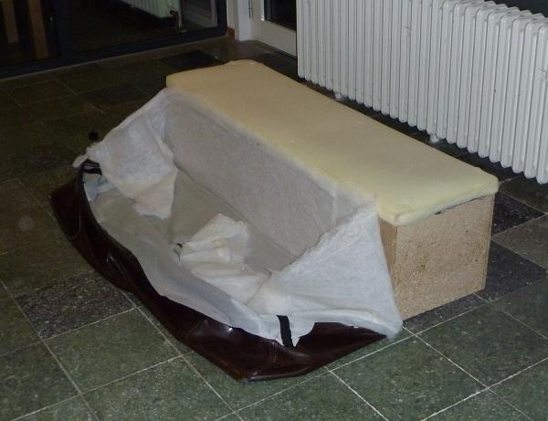 Eine 'Sitzbank' - sieht gemütlich aus -