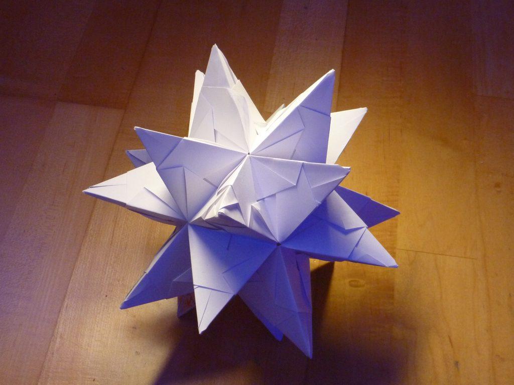 Folded Paper Star
